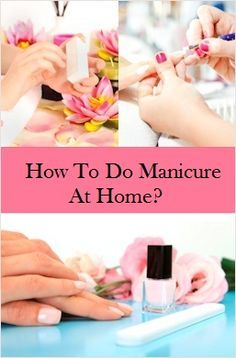 Simple Homemade Manicure Tips: Take a small bowl or tub and fill it in with the warm water, a hand soak (if available) or else you may try some of the do it yourself recipes given here.