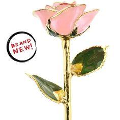 24 karat gold dipped rose - Google Shopping Gold Dipped, Google Shopping, Gift List, Dips, Rose, Gift Registry, Sauces, Pink, Roses