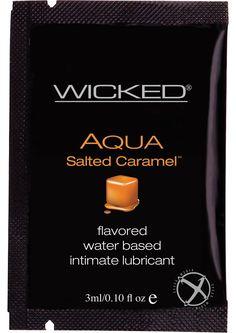 Buy Wicked Aqua Salted Caramel Foil 144/bag online cheap. SALE! $93.99