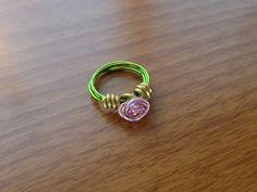 Rose ring https://www.facebook.com/simplyshapedjewelry