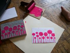 Printmaking and Stamping! - Makers School of Art and Creativity Meetup (New York, NY) - Meetup