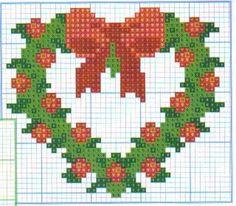 >christmas – cross stitch patterns -4 / yeni yıl – çarpı işi şablonları -4 | rusensdiary