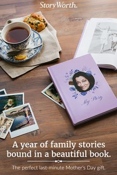 StoryWorth makes it easy to record family stories and print them in beautiful keepsake books. Family Memories, Making Memories, Crafts For Teens, Teen Crafts, Mother Day Wishes, Memory Books, Appreciation Gifts, Meaningful Gifts, Writing A Book