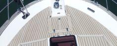 Here's an 'after' photo... #SyntheticTeak #Boat #Yacht #MotorYacht #Corvette320 #Emsworth #Teak