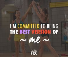 Stick to your goals - this program made it so easy to lose the weight and tone up!