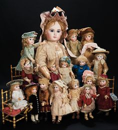 Dolls from Theriault's November 2014 auction, Let the Music Begin! http://Theriaults.com