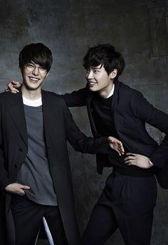 kim woo bin, lee jong suk, k-actors Jung Suk, Lee Jung, So Ji Sub, Asian Actors, Korean Actors, Korean Actresses, Kpop, Sung Joon, W Two Worlds