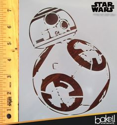 Bakell.com - STAR WARS STENCILS only $7.00 at Bakell.com! At Bakell we have a huge selection of cake decorating and crafting stencils that you can buy as is, or we can custom print a stencil to any size or design you need! Lead times on custom stencils is 10 days as well as an added charge of $7.50 per custom design. Get all of your stencils and other cake decorating tools and supplies at bakell.com today! #wholesale_prices #baking_supplies #decorating_supplies #freeshipping #bakell…