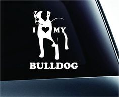 I Love My American Bulldog Dog Symbol Decal Funny Car Truck Sticker Window (White) ExpressDecor http://www.amazon.com/dp/B00S5DYH2G/ref=cm_sw_r_pi_dp_SwyTub1EE8SWS