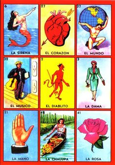 The Lotería game originated in Italy in the 1400s,  moved to Spain and finally came to Mexico in 1769. In the beginning Lotería was a hobby of the upper classes, but eventually it became a Mexican tradition.