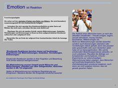 Emotion - eine gefühlsbetonte Wort- und Sehreise Fails, Perception, Research, Legends, Thoughts, Pictures