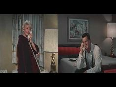 Pillow Talk - Rock Hudson (closeted gay actor) feigns gay to get Doris Day Face The Music, Rock Hudson, She Is Gorgeous, She Movie, Great Films, Golden Age Of Hollywood, Classic Films, Pillow Talk, Old Movies