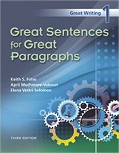 Great writing 2 great paragraphs key bookz ebookz books similar ideas fandeluxe Images