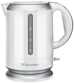 Чайник ELECTROLUX EEWA 3130 - 1 700.00 руб. - Вес: 1 кг; Вес в упаковке: 1.2 кг; Блокировка крышки: Есть; Индикатор уровня воды: Есть; Фильтр: Есть; Мощность: 2200 Вт; Блокировка включения без воды: Есть; Объем: 1.5 л; Тип нагревательного элемента: закрытая спираль; Дисплей: Есть;Купить