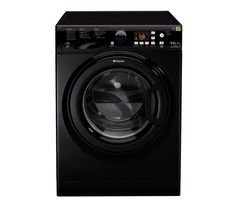 HOTPOINT WDPG9640K Washer Dryer – Black Currys £479