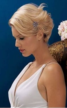 classic bridal chignon hairstyle
