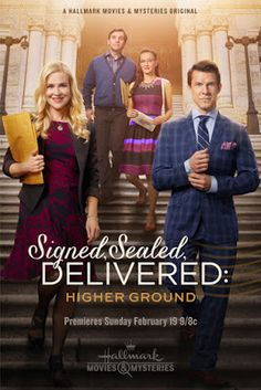 """Its a Wonderful Movie - Your Guide to Family and Christmas Movies on TV: The Chronological Order of Hallmark's """"Signed, Sealed, Delivered"""" plus DVD info!"""
