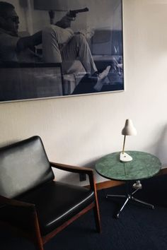 We provided a Verde Guatemala Marble table top for a coffee table at the Danish Embassy in Japan. We can offer all sorts of custom table tops in marbles, granite, terrazzo, slate or composite materials. Do you want us to help you with your next project?