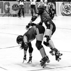 Roller Derby in Helsinki Finland by tuomaskaisti