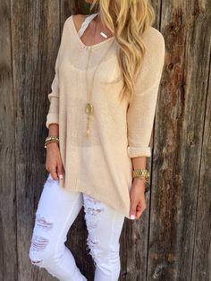 Autumn Knit Sweater – Lola Jeannine