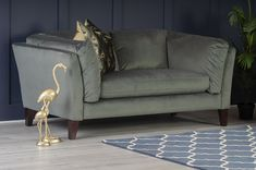 The Langley 2 Seater Sofa, available online at Michael Murphy Home Furnishing. Michael Murphy, 2 Seater Sofa, Home Furnishings, Ottoman, Couch, Goals, Chair, Green, Furniture