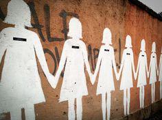 murale contro il femminicidio, via dei sardi, roma.