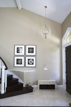 """Sherwin Williams' Rushing River, SW7746 is similar to this color--beige and gray tones."""
