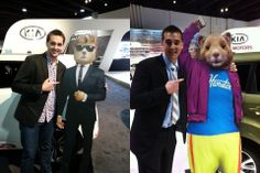 Two years ago, Jordan Walker got to meet the Kia Hamster at his first Atlanta Auto Show. The two were reunited at the 2014 Atlanta Auto Show - friends forever.