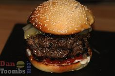 Burger by Dan Toombs  @TheCurryGuy