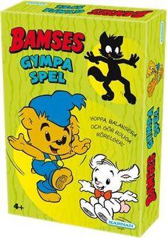 I Bamses gympaspel ska du samla på kort genom att göra olika roliga gymparörelser med Bamse och hans vänner. Att spela spel och röra på sig samtidigt är bra både för kroppen och knoppen! Från 4 år. 2 - 4 spelare.