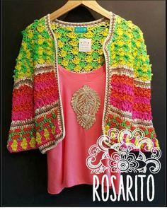 Crochet Jacket, Crochet Fashion, Crochet Clothes, Boho, Crochet Patterns, Embroidery, Sweaters, Cardigans, Knitting