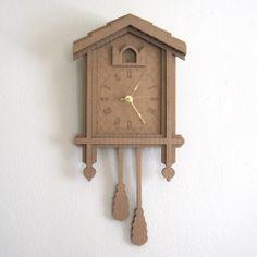 Cardboard Cuckoo Clock