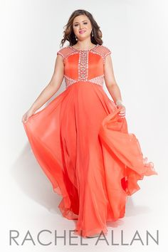 Plus Size Prom Dress and Evening Wear