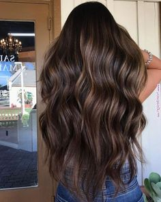 Long Wavy Ash-Brown Balayage - 20 Light Brown Hair Color Ideas for Your New Look - The Trending Hairstyle Brown Hair Shades, Light Brown Hair, Hair Color For Black Hair, Brown Hair Colors, Long Brown Hair, Hair Color Asian, Ash Brown, Brown Hair Balayage, Balayage Brunette
