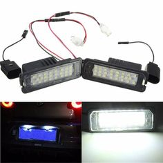 24 LED White License Number Plate Light Canbus For VW Passat Golf GTI MK5 MK6  Worldwide delivery. Original best quality product for 70% of it's real price. Buying this product is extra profitable, because we have good production source. 1 day products dispatch from warehouse. Fast &...
