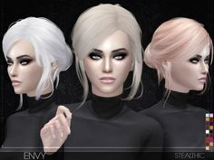 -No transparency issues  Found in TSR Category 'Sims 4 Female Hairstyles'