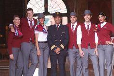 『 世界一おしゃれな客室乗務員の制服』エア<br /> <h4>カナダルージュ(Air Canada Rouge)画像