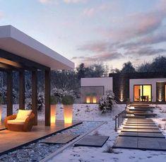 Zx96 D to wyjątkowy dom z kategorii projekty domów drewnianych Design Case, Home Fashion, House Design, Mansions, House Styles, Interior, Outdoor Decor, Home Decor, Ideas