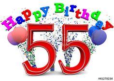 55th Birthday, Milestone Birthdays, Daughter, Number, Happy, Calendar, Ser Feliz, My Daughter, Daughters