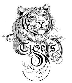 Lsu Tigers Football, Saints Football, Football Girls, Lsu Alabama, Clemson, Free Coloring Pages, Coloring Books, Football Coloring Pages, Football Season