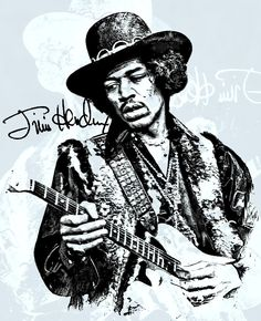 "James Marshall ""Jimi"" Hendrix was an American rock guitarist, singer, and songwriter"