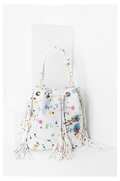 Desigual Faux leather summer sack bag. Discover the new arrivals in our accessories collection!