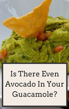 What if you were munching on guacamole, only to find out it contained absolutely no actual avocado? Dr Oz investigated claims that some guacamole dips could be fooling consumers.