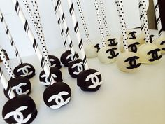 Chanel Cake Pops