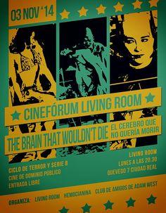 Cinefórum Living Room: The Brain that wouldn't die