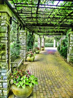 Olbrich Gardens, Madison, WI - beautiful, any time of the year! Us Destinations, Madison Wisconsin, Adventure Awaits, Summer Travel, Places To See, The Good Place, Around The Worlds, Explore, Landscape