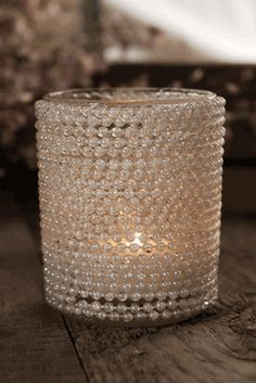 Pearl Tealight Candleholder - I like this for room accents, wondering if PENY team could just create, seems easy enough. **RUBI**