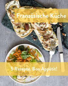 Französische Rezepte für Feinschmecker Marley Spoon, Chicken, Meat, Ethnic Recipes, Food, Cooking, Food Food, Essen, Meals