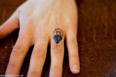 Way before I got my bows done on my thumbs, I got this done. It was done at Cock A Snook in Newcastle on their Friday 13th day but it also has another meaning. As its on my wedding finger it symbolises my love for my boyfriend, we started officially dating on the 13th day of April [just before my birthday] nearly 4 years ago now, 13 is a lucky number for us both, he also had a major new job telephone interview that day [whilst we were stood in the que] and ended up getting the job!