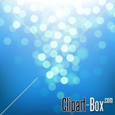CLIPART BLUE BOKEH
